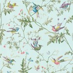 100/14069.CS Hummingbirds Blue Multi-Colour by Cole & Son