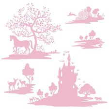 RMK3367GM Dwell Studio Fable Giant Decal by York